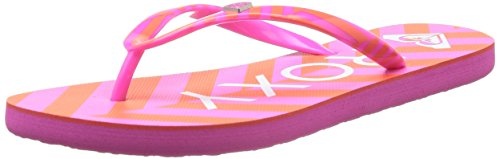 Roxy Mimosa V, Tongs femme Multicolore (Pink Stripe)