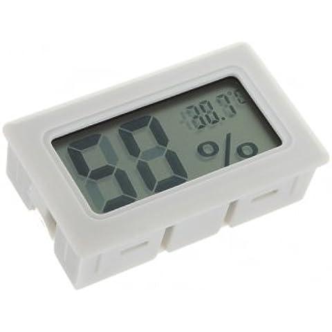 Mini Digital LCD umidità del termometro del tester del calibro igrometro Indoor