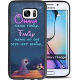 Lilo & Stitch Samsung Galaxy S7 Edge Case caso,Disney Lilo & Stitch Samsung Galaxy S7 Edge Nero and PC Case caso