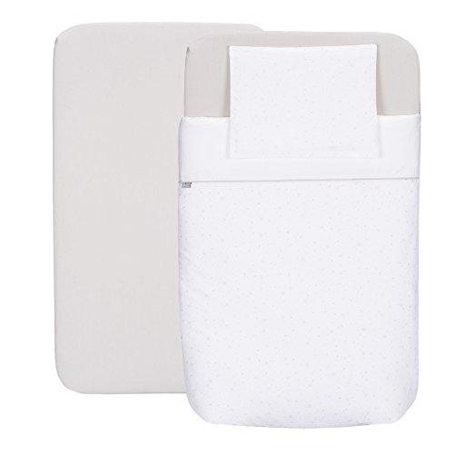 Chicco Next 2 Me - Kit con federa, lenzuolo con angoli elasticizzati, piumino e copripiumino