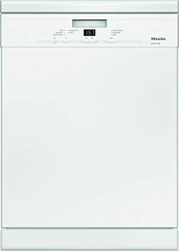 Miele G 4943 SC Series 120 Stand-Geschirrspüler mit 3D-Besteckschublade / A+++ / 237 kWh / AutoOpen-Trocknung / 14 Maßgedecke / Brillantweiß / 45 dB / 5 Spülprogramme