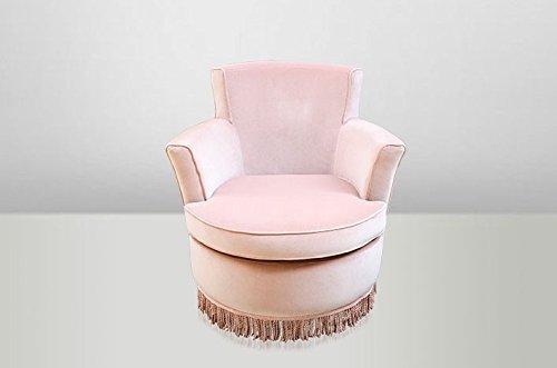 Casa Padrino Luxus Art Deco Lounge Sessel Rose - Luxury Collection - Jugendstil - Belle Epoche -