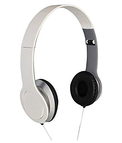 Captcha Megabass Over Ear Wired Headphone for All Smartphones