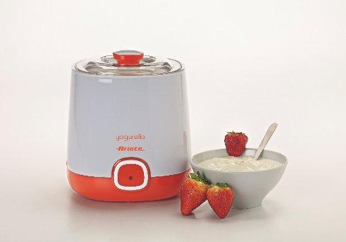 31R%2B7sBKSpL - Ariete 621 Maker Container and one Liter Capacity for Yoghurt Yogurella-621, 20 W, White