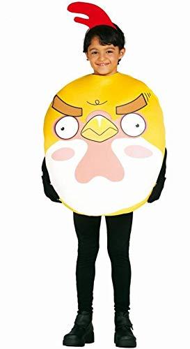 Disfraz von pollito Angry infantil - 7-9 - Angry Birds Roter Vogel Kostüm