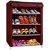 Iron RMA Shoe Rack - 4 Layer