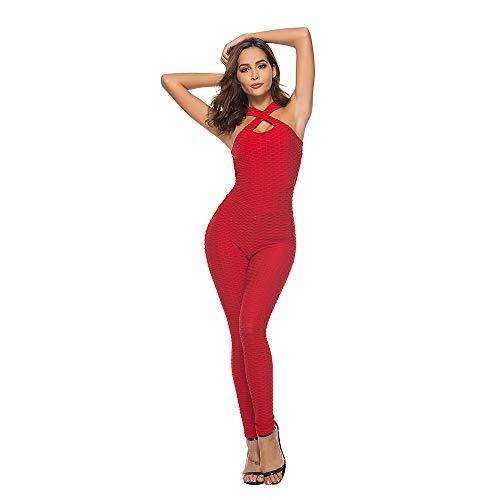 Pantalón de una Sola Pierna Yoga para Mujer -ZARLLE Mujeres Elásticos Sports...
