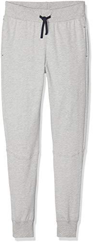 Sanetta Jungen Pants Long Schlafanzughose, per Pack Grau (Silver Mel. 1560.0), 164 (Herstellergröße: 164)