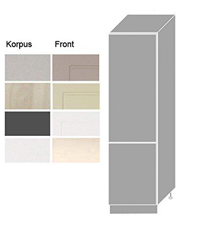 #Apothekerschrank 161044 Küchenschrank 60cm Korpus- und Frontfarbe wählbar#