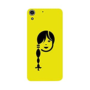 Skintice Designer Back Cover with direct 3D sublimation printing for HTC Desire 728