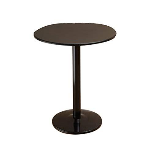 C-J-Xin Bar Tisch, Balkon Cafe Kaffeetisch im Freien Eisen-Kunst-Dekoration Blumenständer Multifunktions-Rostschutz Freizeit Tisch Platz Sparen (Color : D)