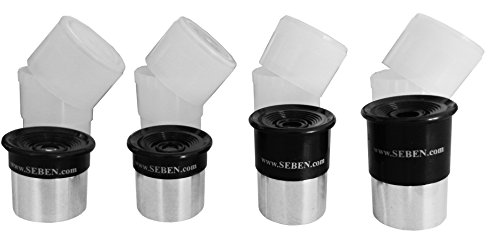 """4x Okular Set SR4mm + H6mm + H12,5mm + H20mm 1,25"""" OS1"""