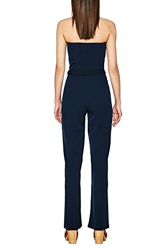ESPRIT Collection Damen Jumpsuit 067EO1L003, Blau (Navy 400), 36 - 2