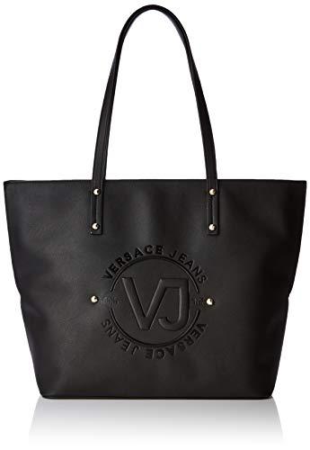 Versace Jeans Couture Damen Bag Schultertasche, Schwarz (Nero), 14x29x42 Centimeters