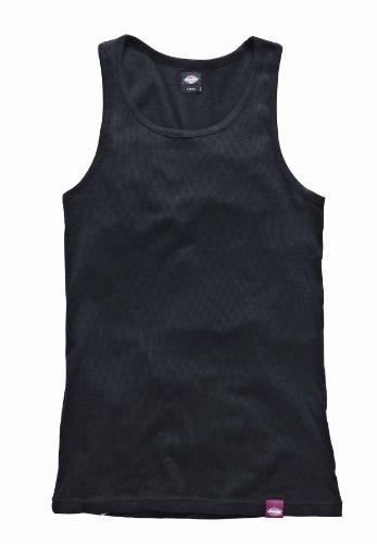 Dickies Herren Unterhemd Proof, 3er Pack, Gr. Medium, Schwarz (Black BK)