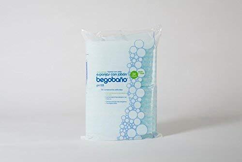Esponja jabonosa Solo Uso BB1 100g/m2 12x20cm.10pack