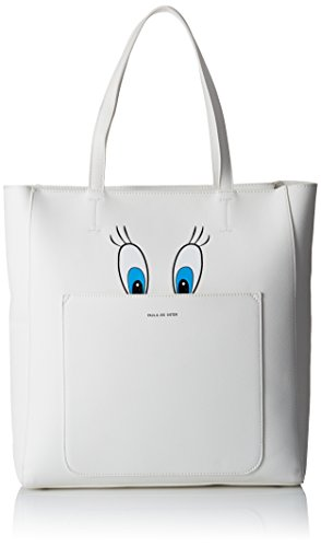 PAUL & JOE Tote Bag, shoppers Blanc - Weiß (Blanc 01 01)