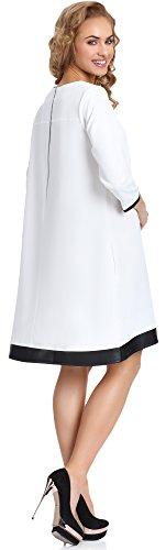 Merry Style Damen Kleid Zuza Ecru