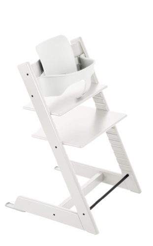 Imagen para Stokke Tripp Trapp with matching Babyset - White by Stokke