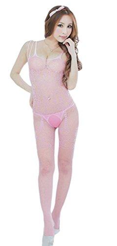e Negligee Reizvolle Kostüm Baby Dolls Dessous-Sets Pink (Baby Doll Kostüm Rosa)