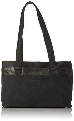 Tamaris - Khema Shoulder Bag, Borse a spalla Donna Nero (Black Comb.)