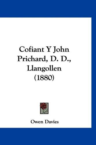 Cofiant y John Prichard, D. D, Llangollen (1880)