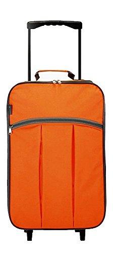 hand-luggage-case-wheeled-case-folding-suitcase-4248-orange