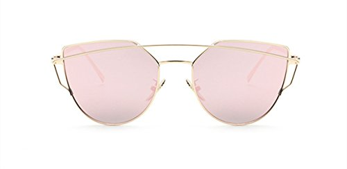 Wer Bin Ich Frau Männliche Sonnenbrille Bequem Persönlichkeit Farbe Optional,金框粉片