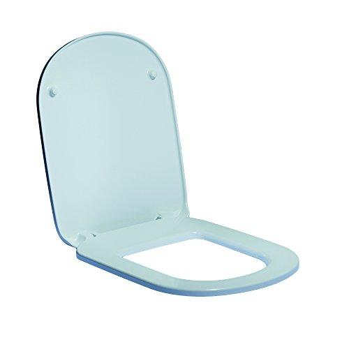 Sedile Wc Dolomite Fleo.Ideal Standard J523201 Sedile Con Cerniere Metallo Ceramica Dolomite Serie Gemma 2 Bianco