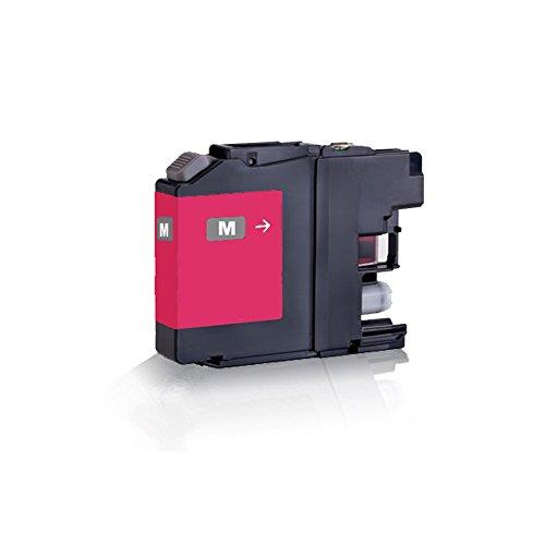 1x Compatible Cartucho de tinta para Brother Magenta–Rojo lc223XL lc225XL lc225XL de DCP J 4120DW MFC-J 4420DW MFC-J 4425DW MFC-J 4620DW MFC-J 4625DW MFC-J 5320DW–Eco Line Serie