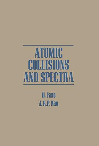 Atomic Collisions And Spectra por U Fano epub