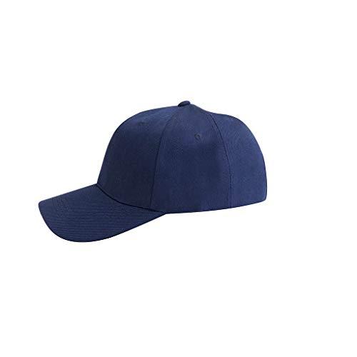 Unisex Baseball Baumwolle Cap Baseball Kappe Verstellbar Snapback Hut Einfarbige Baseboard Baseball Mütze für Damen Herren Cap Sommerhut Schirmmütze Sonnenhut für Sport Reise Outdoor Freizeit