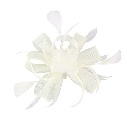 FORLADY Hanf-Garn-Haar-Zusatz-Feder-Kopf-Blumen-Ineinander greifen-Stirnband-wildes Kleid zeigen -