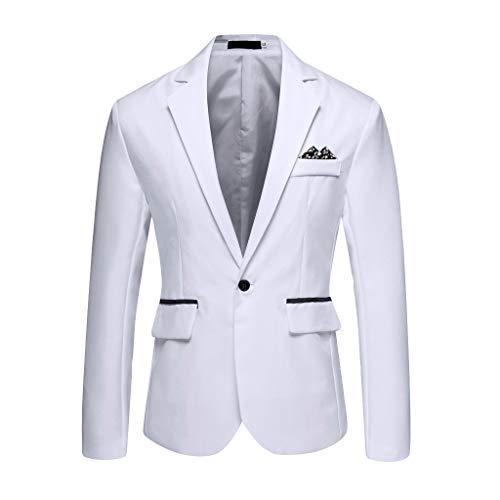 Huacat Suit Coat Jacket Tops for Men Freizeit Anzugjacke Freizeit Anzug Jacke Für Herren