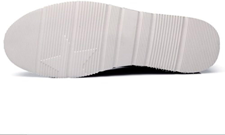 SHANGWU Scarpe Casual da Uomo Business Fashion Scarpe da Uomo in Pelle Scarpe Comode A Fondo Piatto Scarpe Casual... | ecologico  | Sig/Sig Ra Scarpa