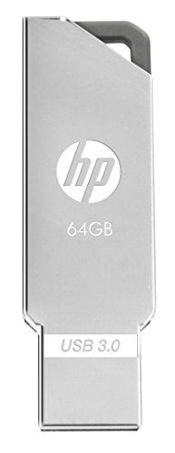 HP X740W USB 3.0 64GB Pen Drive (Silver)