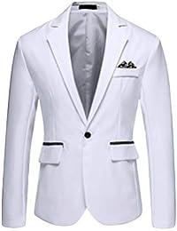 eb1fd7a4e65f4 Amazon.es  blazer hombre - Chaquetas de traje y americanas   Trajes ...