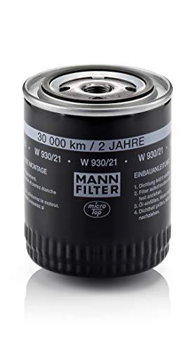 Original MANN-FILTER Ölfilter W 930/21 - Für PKW
