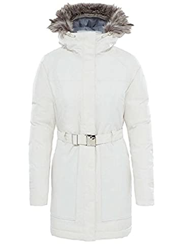 The North Face Women's Brooklyn Parka Ii, Vintage White, Medium