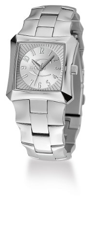 Just Cavalli Blade Lady Just Time R7253106615 - Reloj de Mujer de Cuarzo, Correa de Acero Inoxidable Color Plata