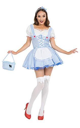 Meine Damen Sexy Dorothy Partei Märchenbuch Woche Verkleidung Kostüm ()