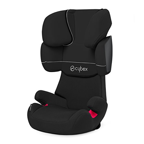 Cybex Solution X Siège Auto - Groupe 2/3, Pure Black....