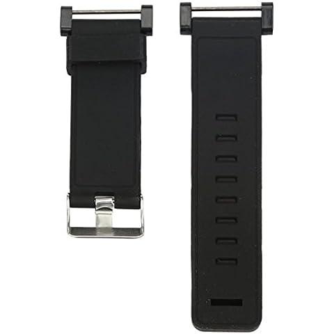 Kingko® di alta qualità in gomma cinturino di lusso orologio cinghia della fascia di sostituzione (Cinghia Della Gomma Di Silicone)