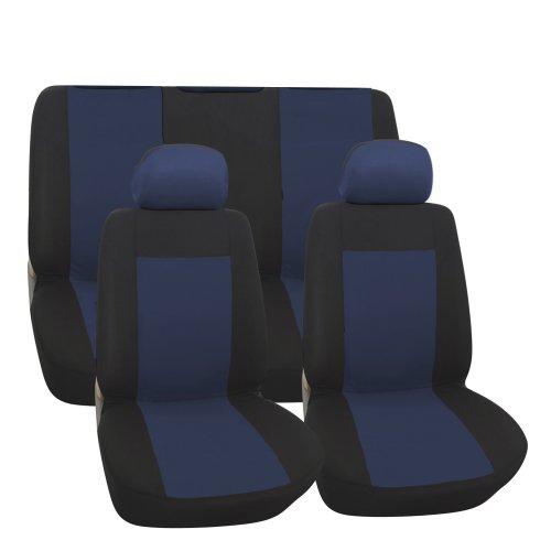 Preisvergleich Produktbild Alpin 20121 Bravo Sitzbezug-Set, blau / schwarz