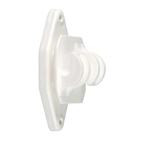 ElectroBraid IWHDCLAWW-EB Heavy Duty Line Post Insulators, White