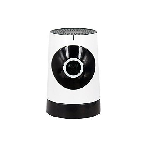 Wellbyuse - IP Camera Wlan 1080p / IP Camera Wlan - IP camera / Two-Way Audio 1.44mm Objektiv / 720P,1 Million Pixel / Alarmaktion Bewegungserkennung / Infrarot IR Nachtsicht,Unterstützung für IOS & Android