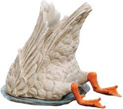 Design Toscano Duck, Duck, Goose Diving Bird