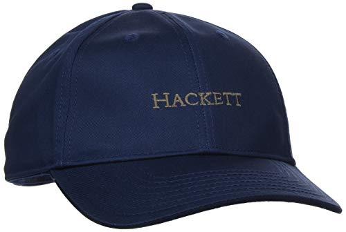 Hackett London Herren Baseball Cap Classic BRND, Blau (Navy 595), One Size (Herstellergröße: 000)