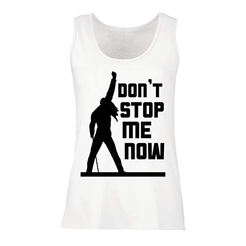lepni.me Camisetas sin Mangas para Mujer Don't Stop me Now!...