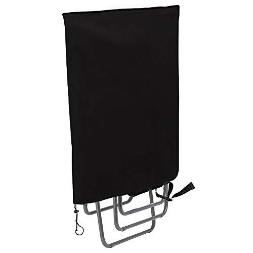 Moonkit Schutzhülle für Relax-Liegestuhl Lafuma Klappstühle Sungörl Gartenliege Sonnenliegen Abdeckung Wasserdicht Gartenmöbel Abdeckhaube aus 420D Oxford Gewebe, 93 x 82 cm